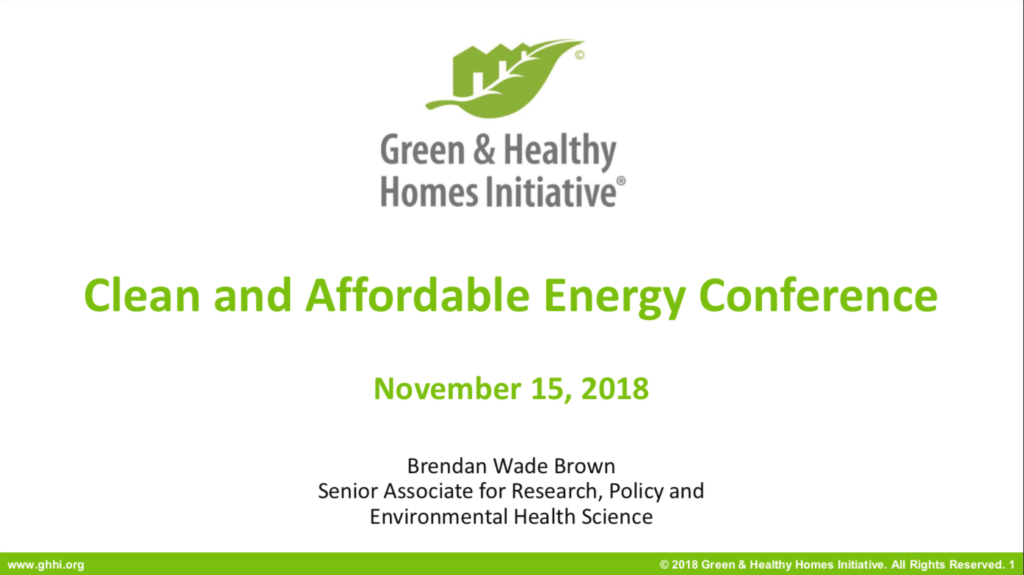 Fall 2018 Clean & Affordable Energy Conference Digest – NW Energy