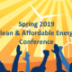Spring 2019 Clean & Affordable Energy Conference Digest