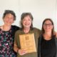 Jessie Dye receives Doug Still Community Organizing Award