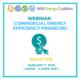 Webinar: Commercial Energy Efficiency Financing